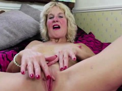 Busty blonde german mature...