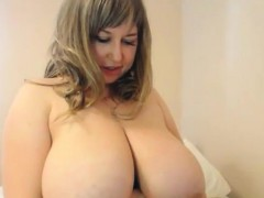 Slut With Large Breasts Teasing