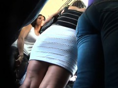 Getting An Upskirt With A...