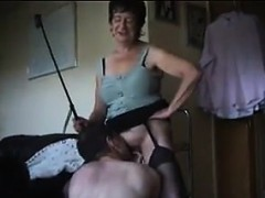 Dominating Granny Wants Him...