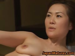 Hot Mom Mina Toujou Is...