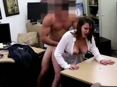 Busty amateur gets laid for cash
