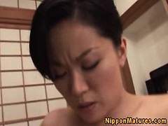 Busty asian milfs bj and...